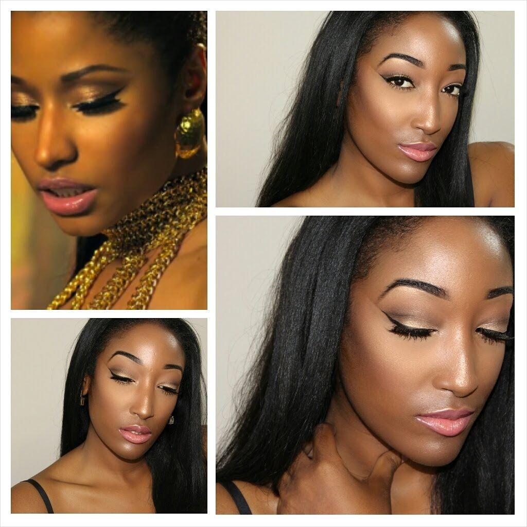 Nicki Minaj Anaconda Makeup Tutorial Nicki minaj makeup