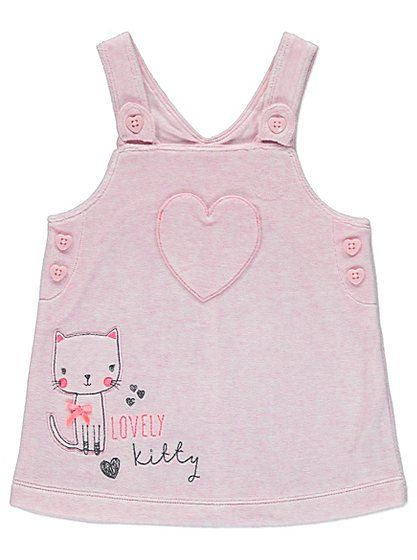 Velour Cat Dress and Top Set, read reviews and buy online at George - asda halloween decorations