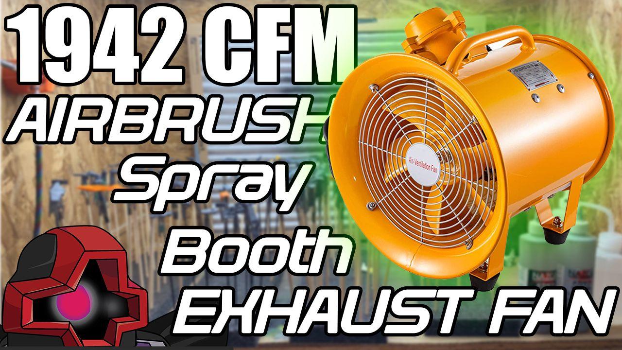 best airbrush spray booth fan 2000 cfm