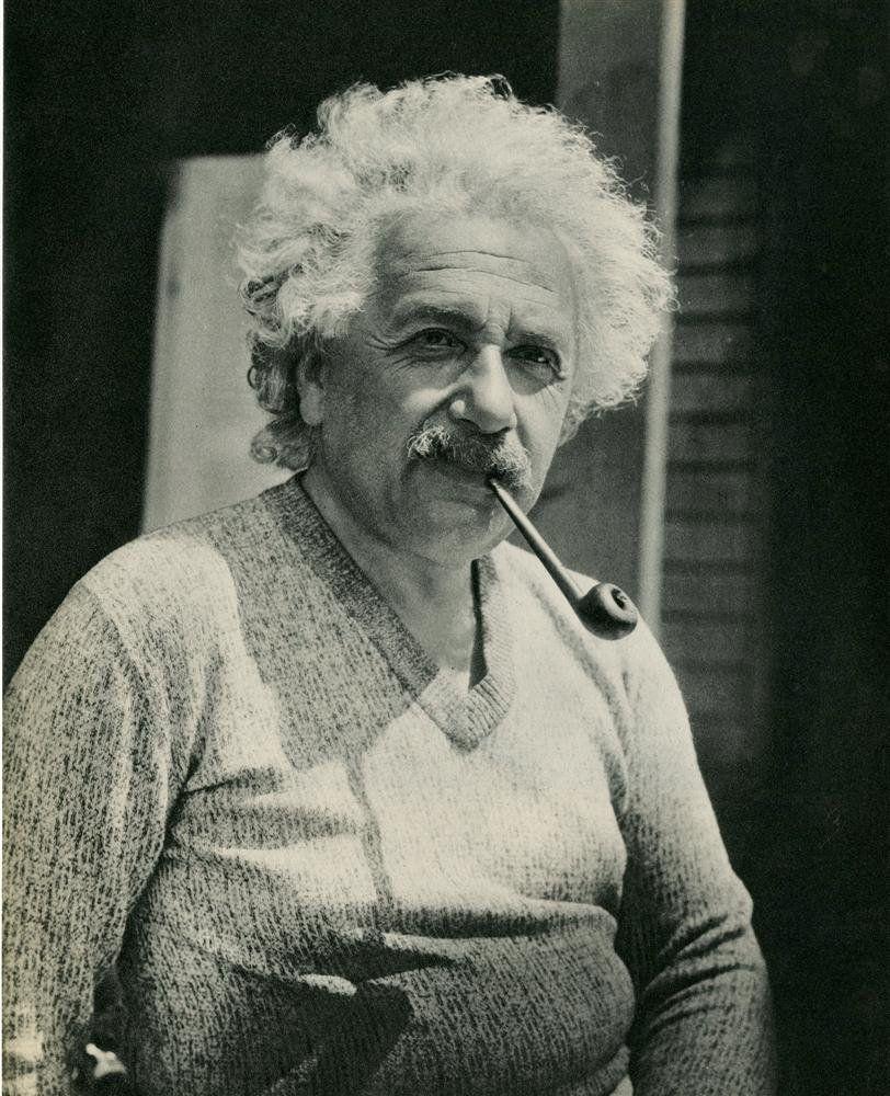 Tony (Toni) Von Horn. Albert Einstein. c. 1932. [::SemAp::]