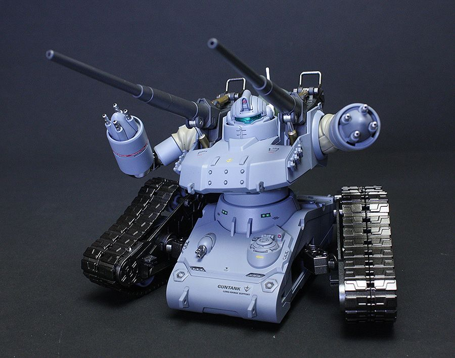 HG Gundam The Origin RTX-65 Guntank Early Type: Painted Build. Photoreview  http://www.gunjap.net/site/?p=246041