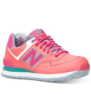 New Balance Women s 574 Island Casual Sneakers from Finish Line - Kids  Finish Line Athletic Shoes - Macy s d16490f4c