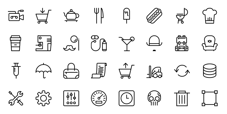 50 Icon Sets With Stroked Icons Icon Set Free Icon Set Professional Icon