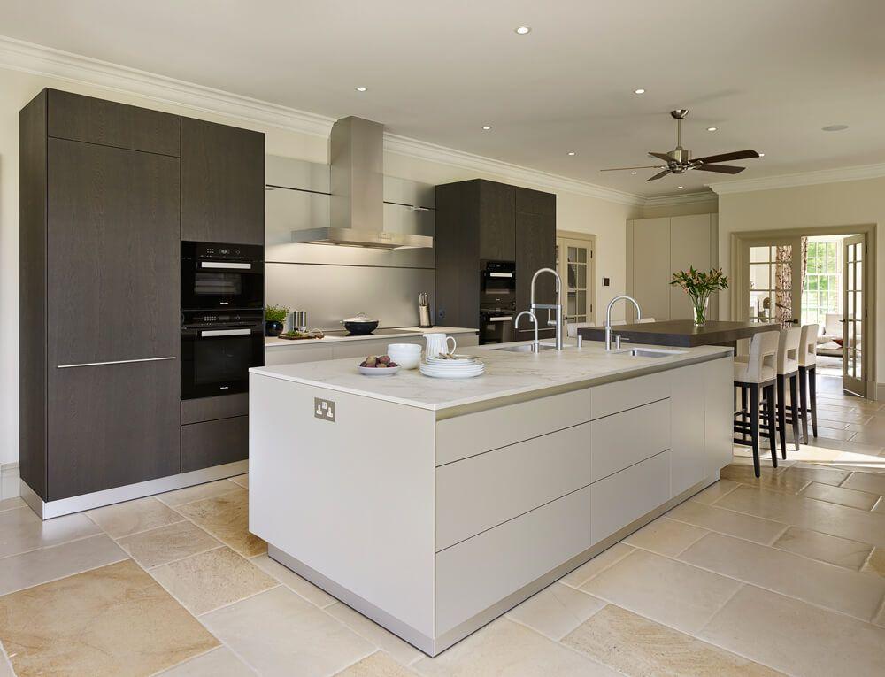 Best Dark Oak And Gravel Bulthaup B3 Kitchen Design Luxury 640 x 480