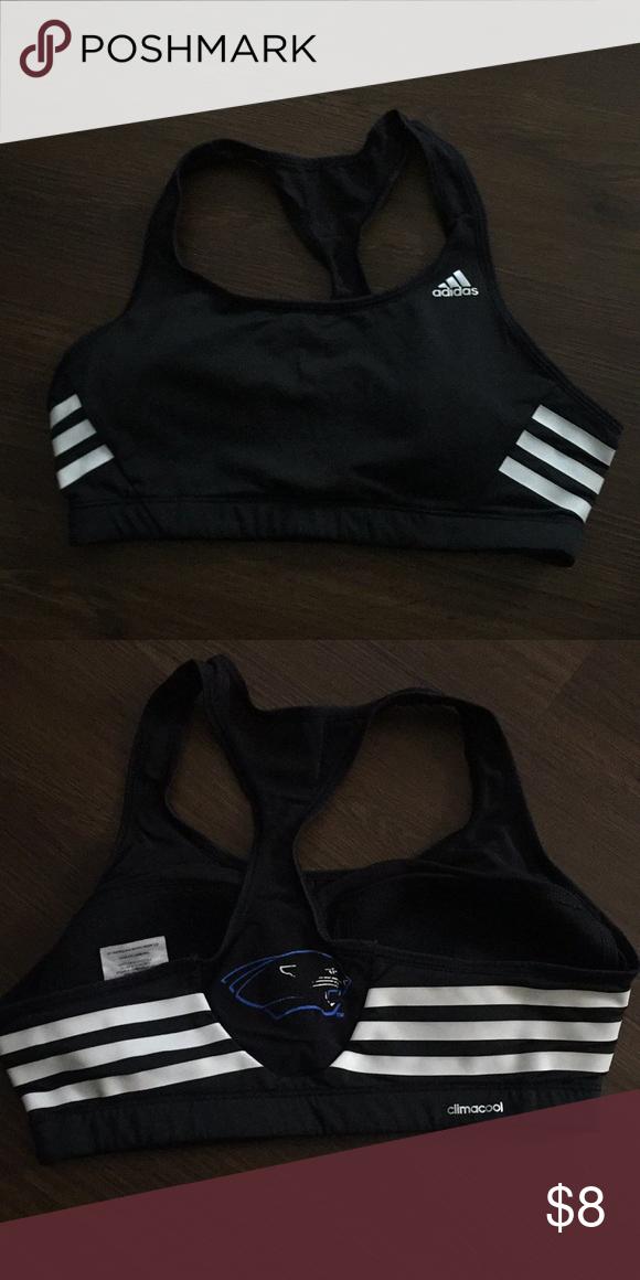 73733fa35e8 Women s Adidas Sports Bra Women s Adidas Sports Bra! Panther logo on back!  adidas Intimates   Sleepwear Bras