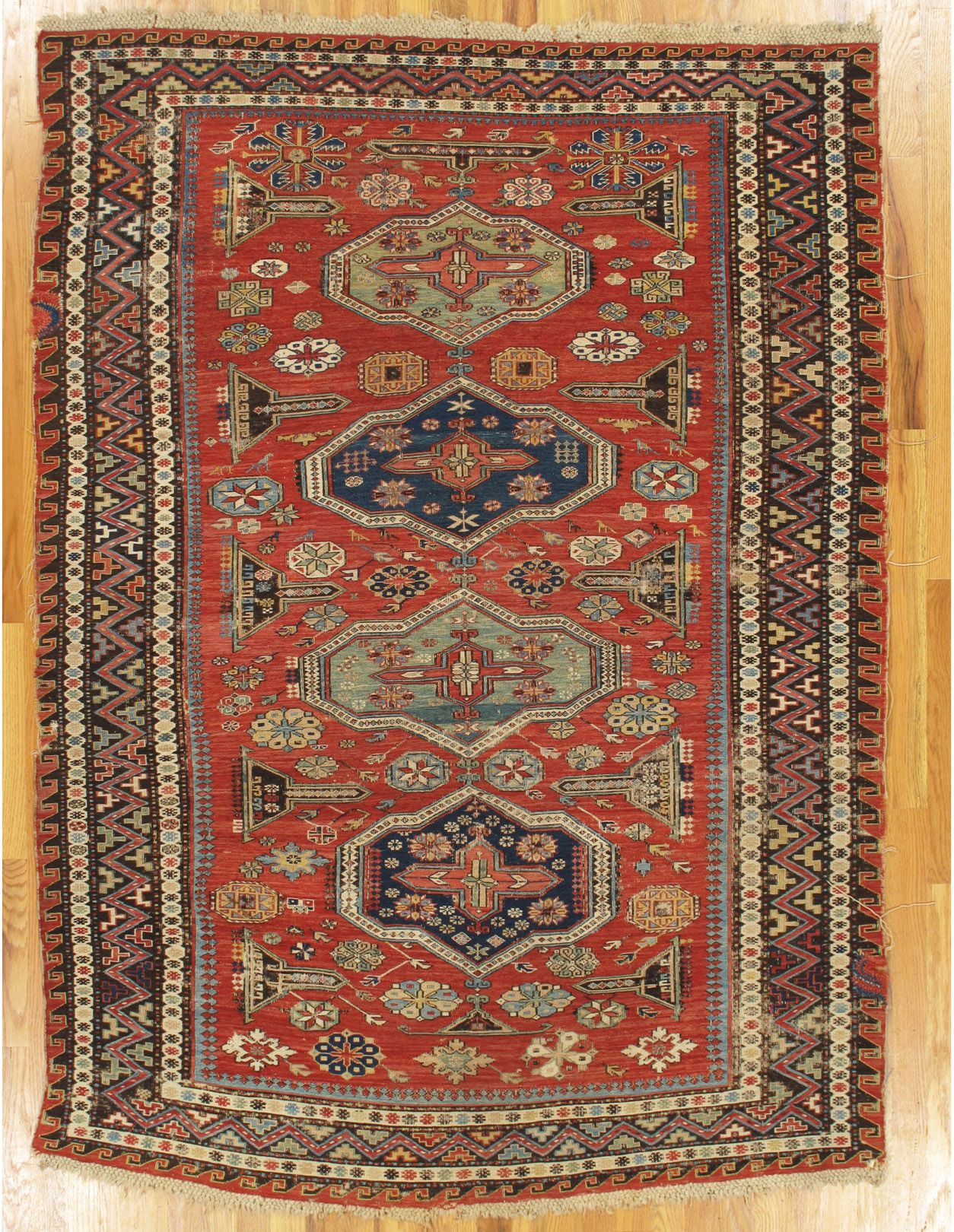 Soumak Flatwoven Rug From Eastern Caucasus West Coast Of The Caspian Sea Age Circa 1870 Size 6 5 X4 7 196x140 Cm Rugs Rugs On Carpet Flat Woven Rug