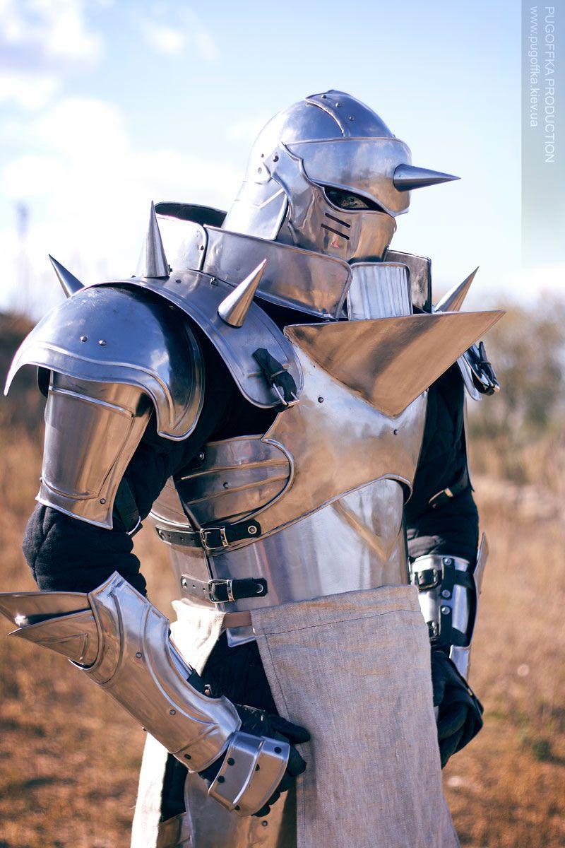 Increíble cosplay de Alphonse Elric
