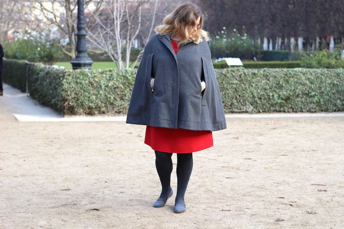 Cape outfit plus size