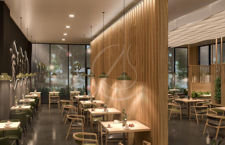 Modern Café Design - Rock Café | Cafe interior design ...