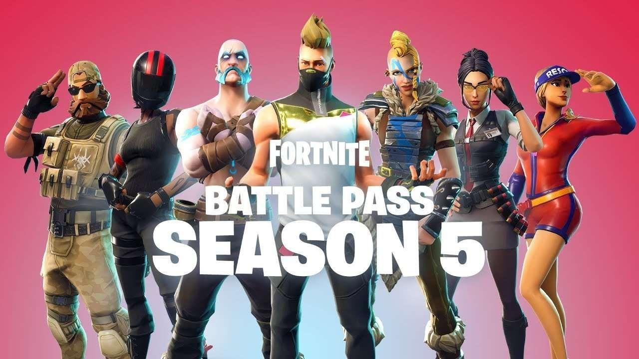 Fortnite Season 5 Battle Pass Skins Price Free V Bucks And How It Works Gaming Fortnite Battle Royale Game Epic Games
