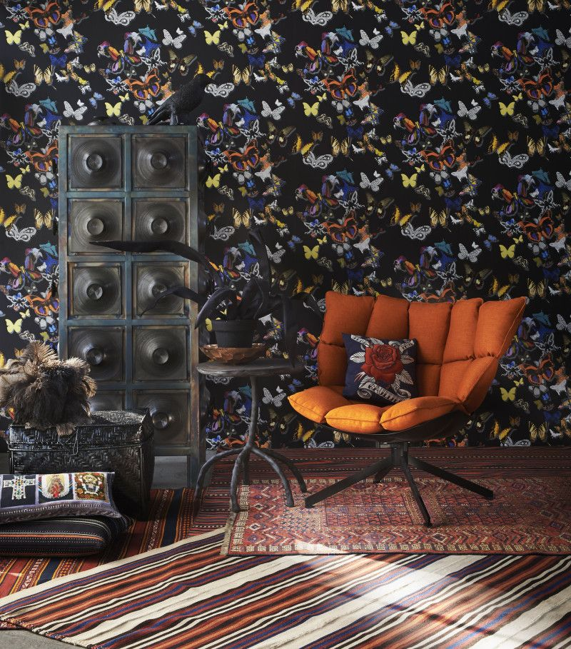 perscentrum Kast van Piet Hein Eek, fauteuil Husk van Patricia ...
