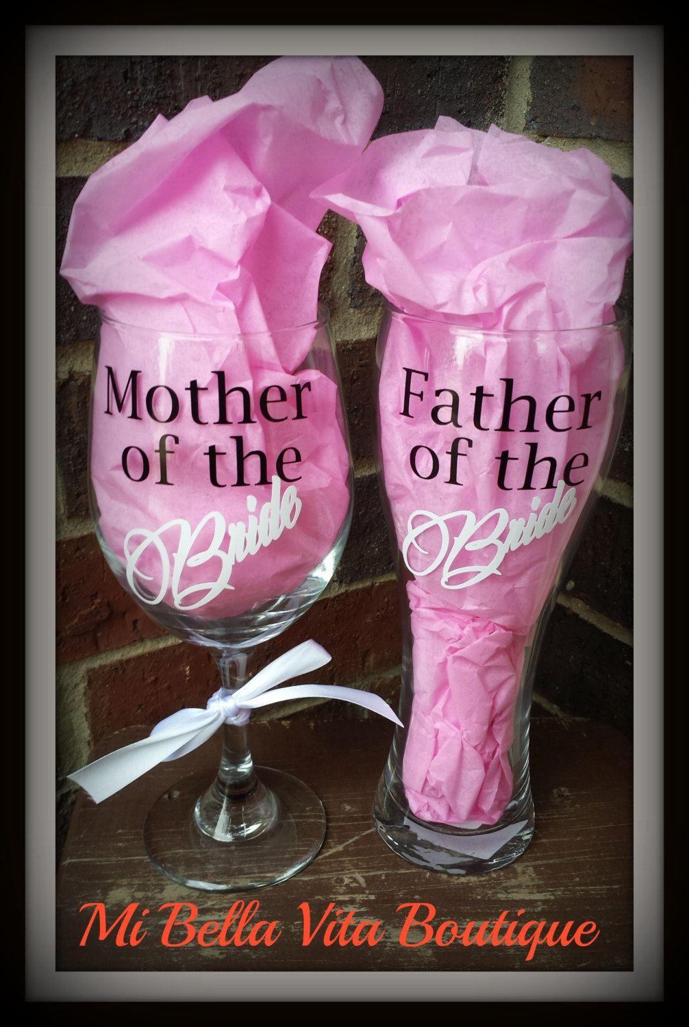 Mother of the Bride 20oz Wine Glass and by MiBellaVitaBoutique ...