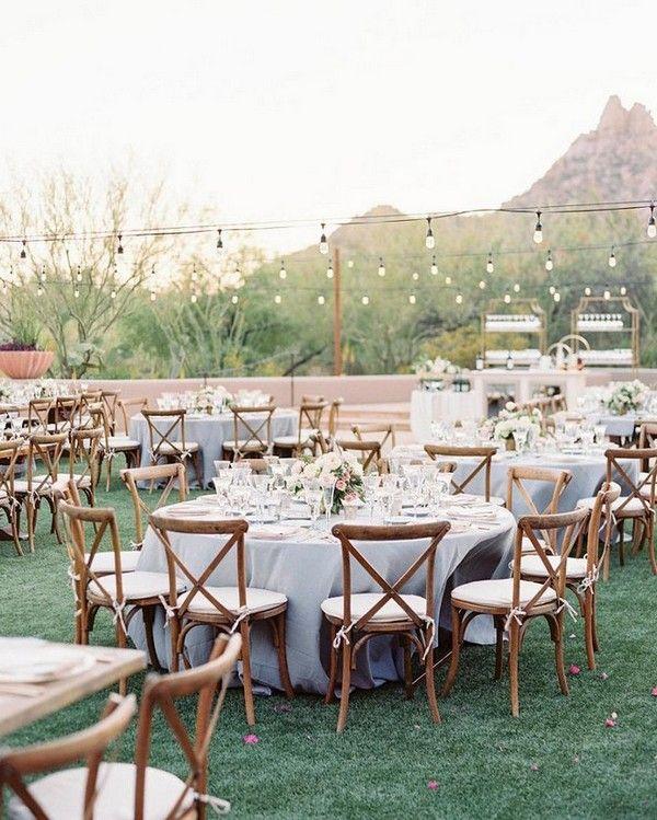 15 Trending Wedding Venue Decoration Ideas For Your Reception Emmalovesweddings Morning Wedding Morning Wedding Reception Round Wedding Tables