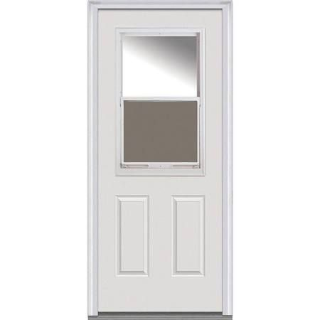 Exterior Door With 1 2 Vent Google Search Mmi Door Steel Doors Exterior Entry Doors With Glass