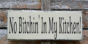 Kitchen Decor Funny Humorous Wood Sign Hand Painted Dining Room Rustic Signs Of Love