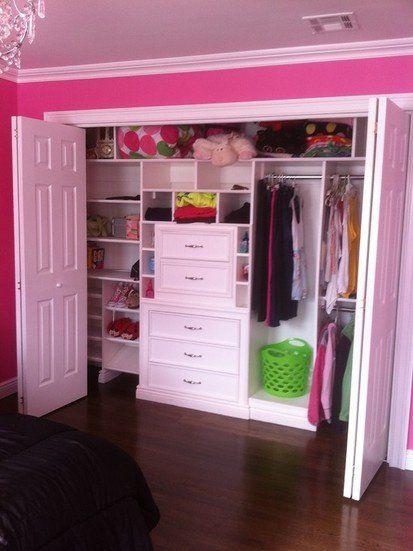 Walk in closet ni as deko pinterest armario ideas for Dormitorio y closet