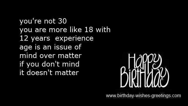 Sayings 30th Birthday For Him 30th Birthday Quotes Birthday Quotes For Him Funny 30th Birthday Quotes