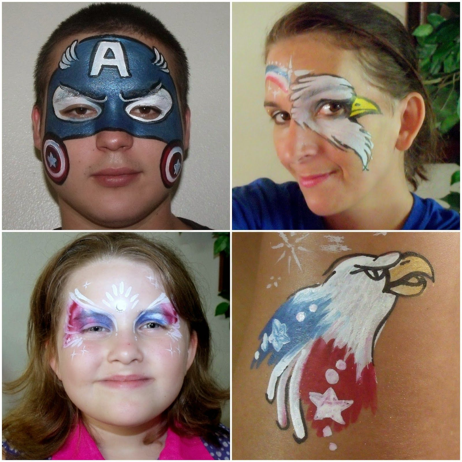 Face Painter Gainesville FLorida FL For Birthday Parties 352 562 1696