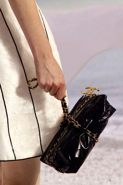 Chanel runway bag