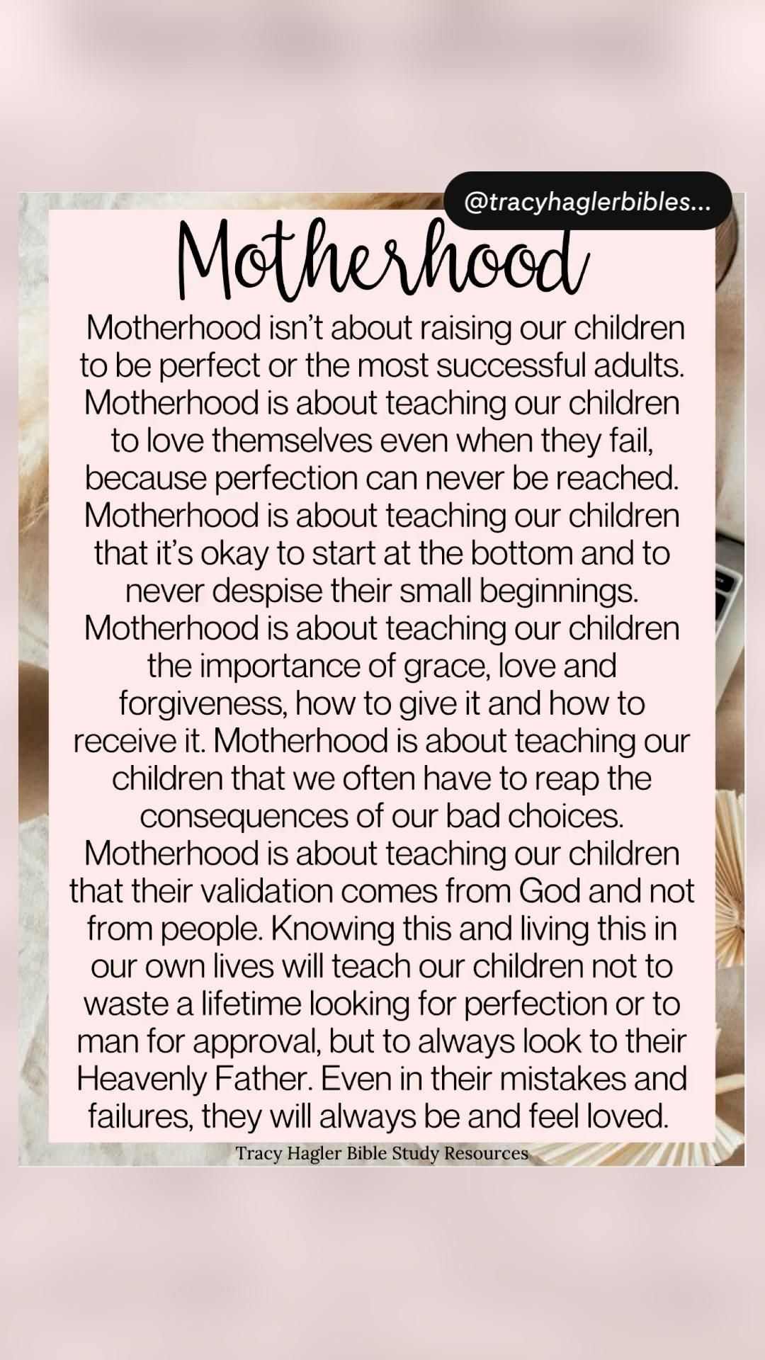 Parenting Quotes for  Motherhood