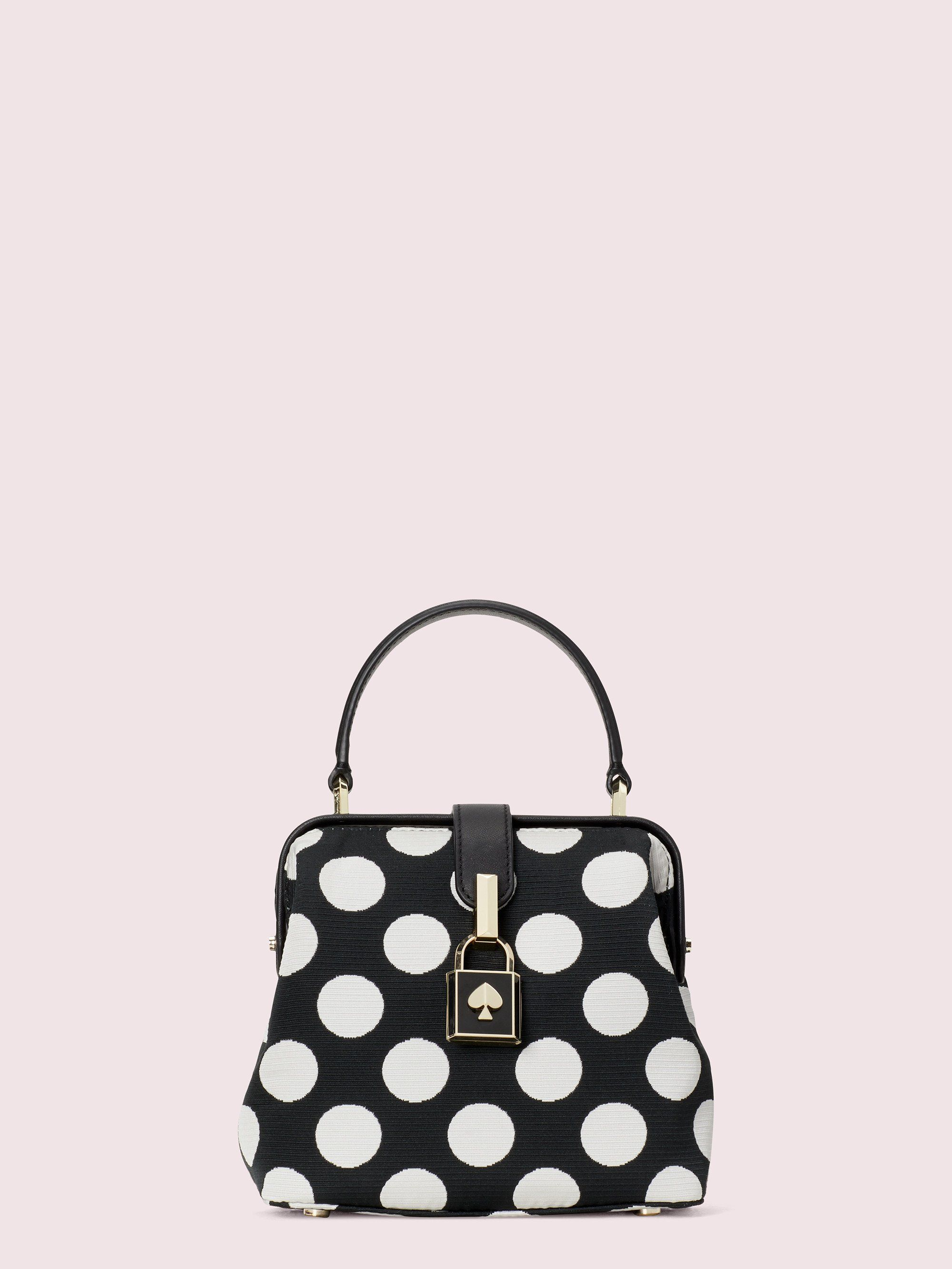 remedy bikini dot small tophandle bag Kate Spade New