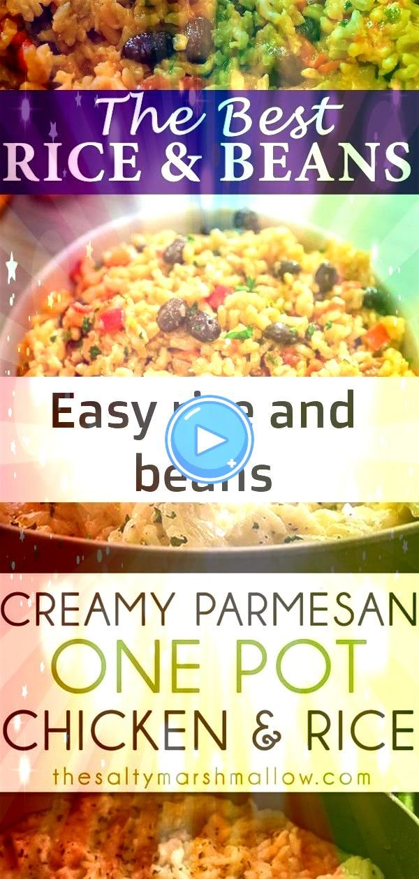 rice and beans This is THE ONLY Rice and Beans recipe youll ever need Made with simple ingredients this dish is filling and very tasty FOLLOW Cooktoria for more delicious...