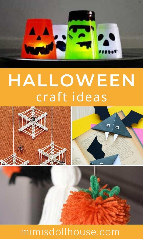 DIY Halloween Decor Craft Ideas