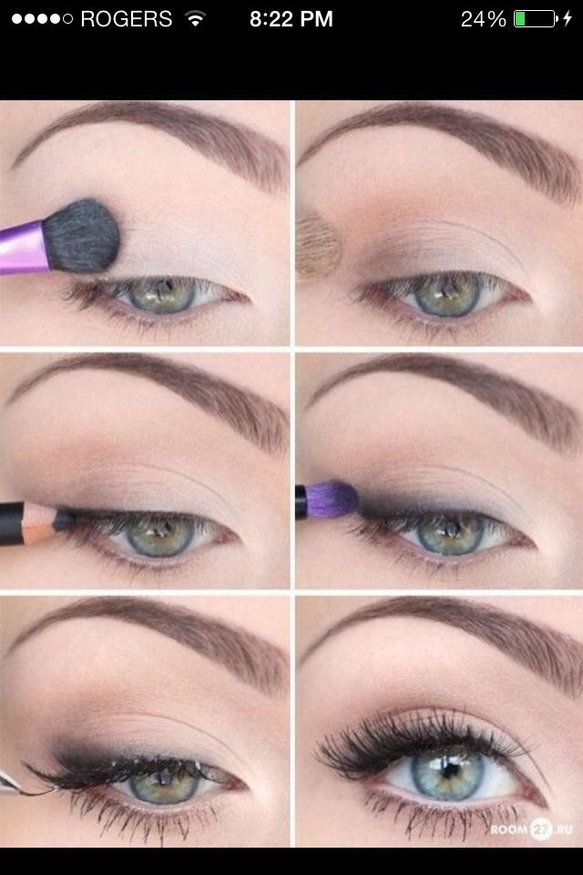 How To Properly Apply Eyeshadow Be Makeup Eye Makeup Natural