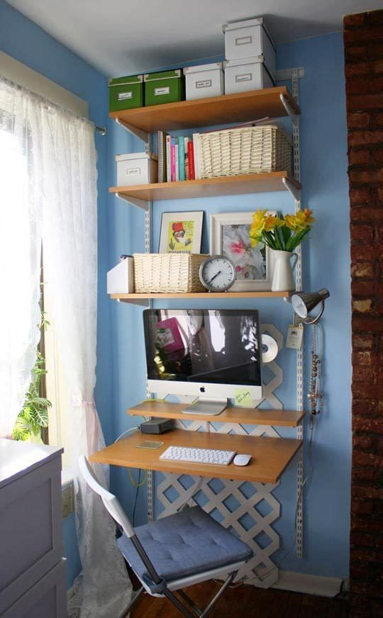 diy home office. DIY Home Office - Small Spaces Diy