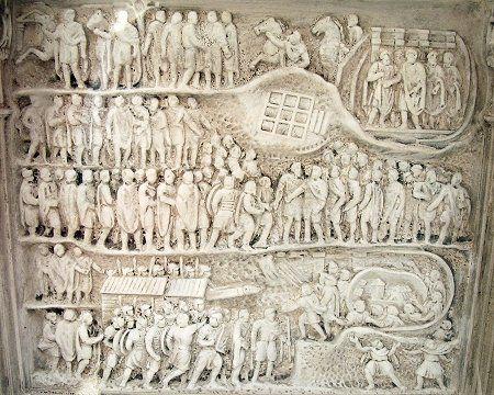 Arch of Septimius Severus, 1st-3rd century AD, Roman Forum, Rome, Italy