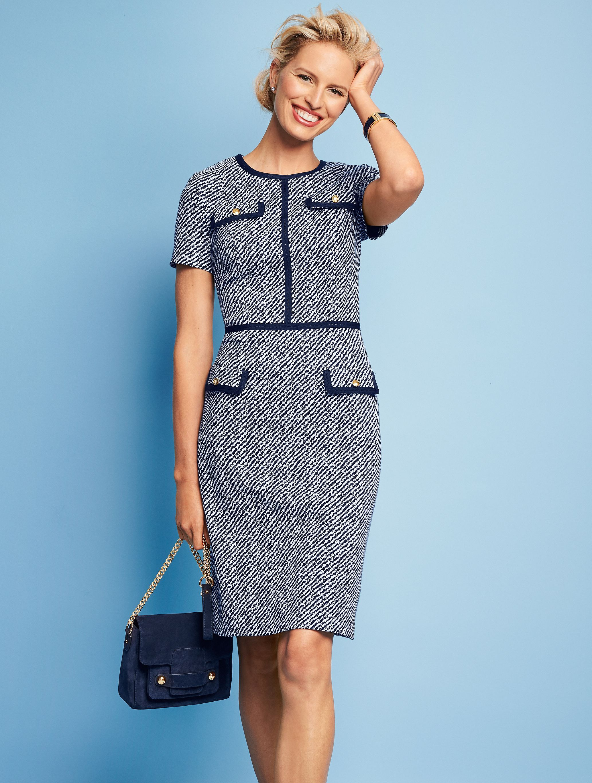 077b5058f1e Sophisticated and stylish—everything a dress should be...and more. This  season-friendly dress is comfortable