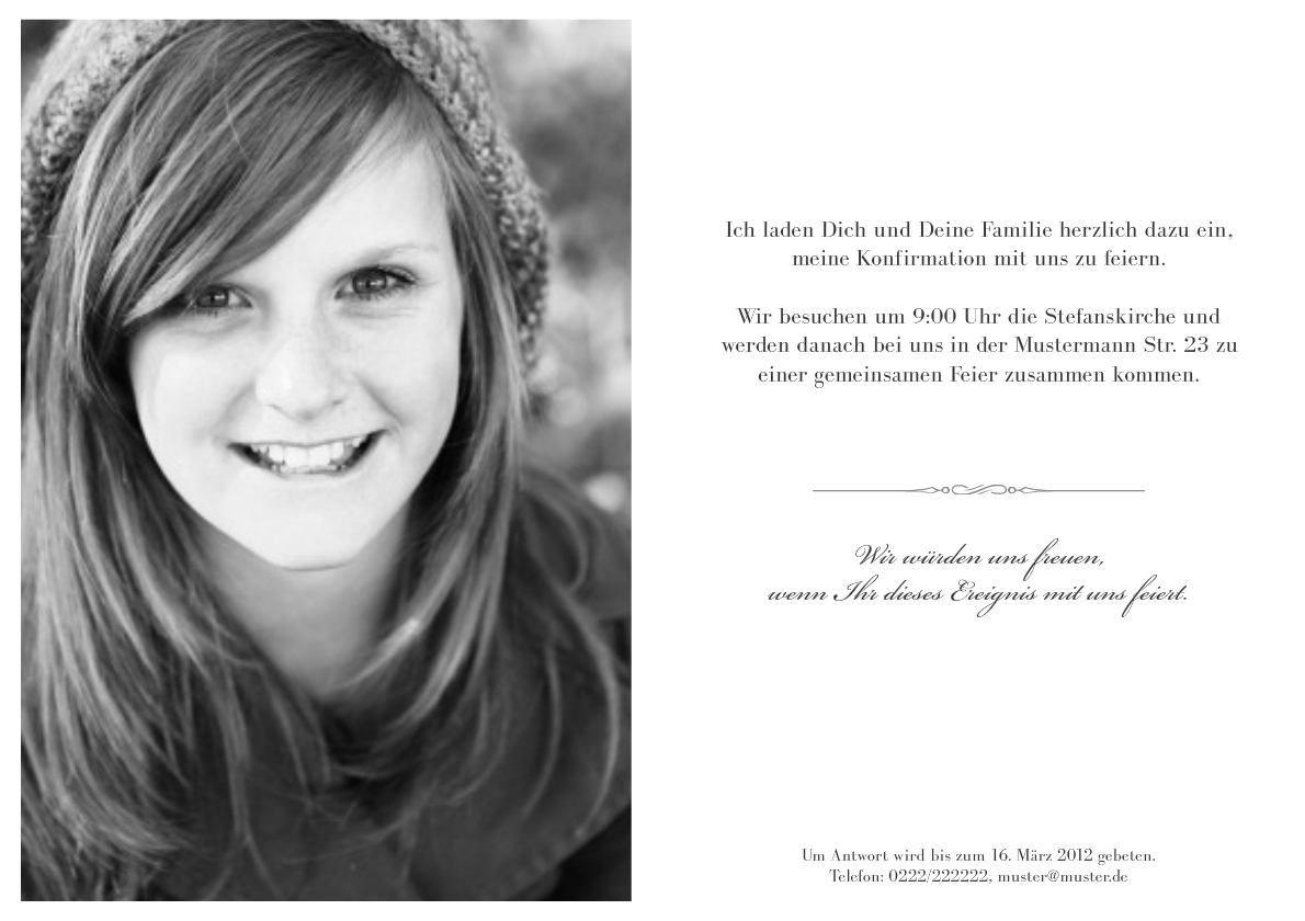 Einladungskarten Jugendweihe Kostenlos Ausdrucken | Einladungskarten  Geburtstag | Pinterest