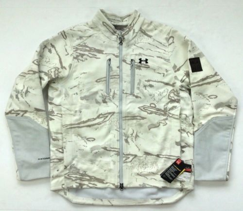 4d192ab2e22c8 Under-Armour-Men-Military-Army-White-Snow-Camo-Ridge-Reaper-Hunting-Wool -Jacket