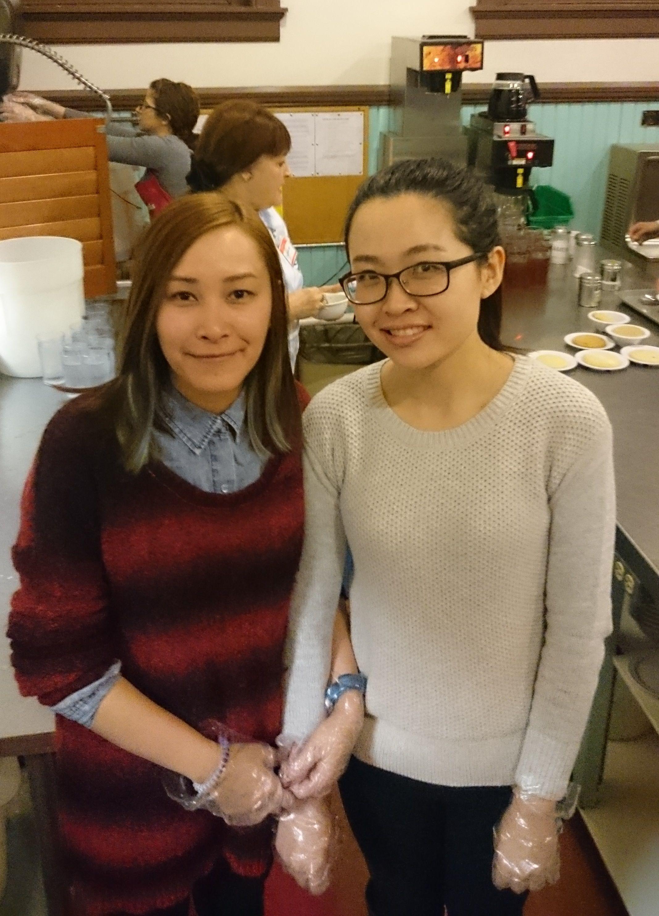 Sam Huang and Julia Huang from Klinger Insurance Group