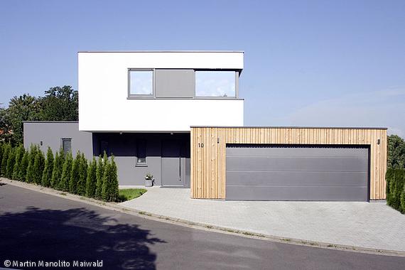Architektonische visitenkarte frankfurt cube magazin