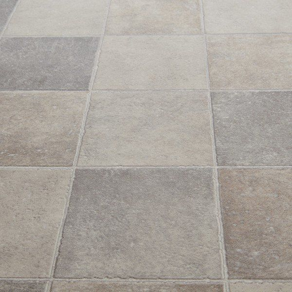 Floorgrip 592 Pompei Stone Tile Effect Vinyl Flooring Tile Effect Vinyl Flooring Vinyl Flooring Kitchen Bathroom Vinyl