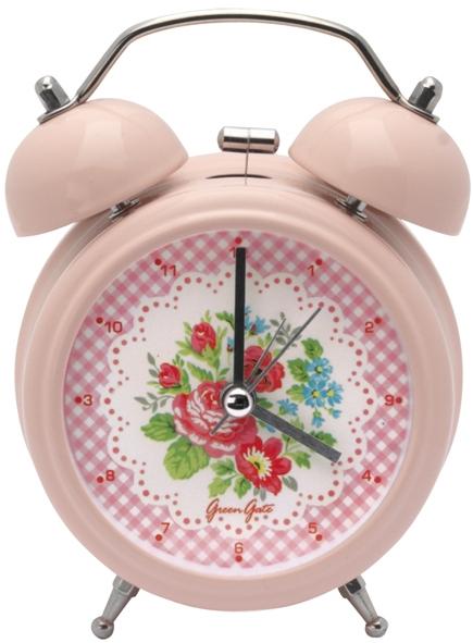 Decorative Bedroom Alarm Clocks: Greengate Alarm Clock