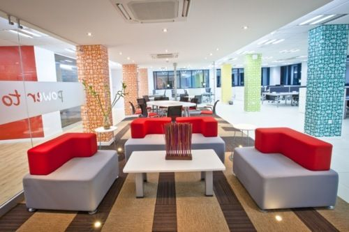 Vodafone offices in accra ghana interior by design for Interior decoration ghana