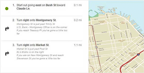 Maps & Driving Directions, One Click Access to Google Maps, MapQuest ...