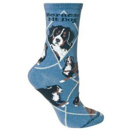 Bernese Mountain Dog Owners Socks Novelty Gift I Love Bernese Mountain Socks