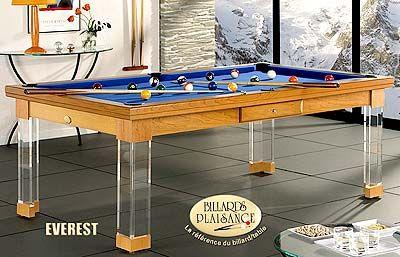 everest european pool table