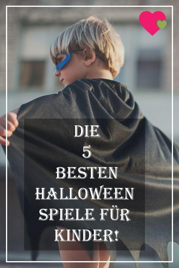 5 Halloween Spiele für Kinder