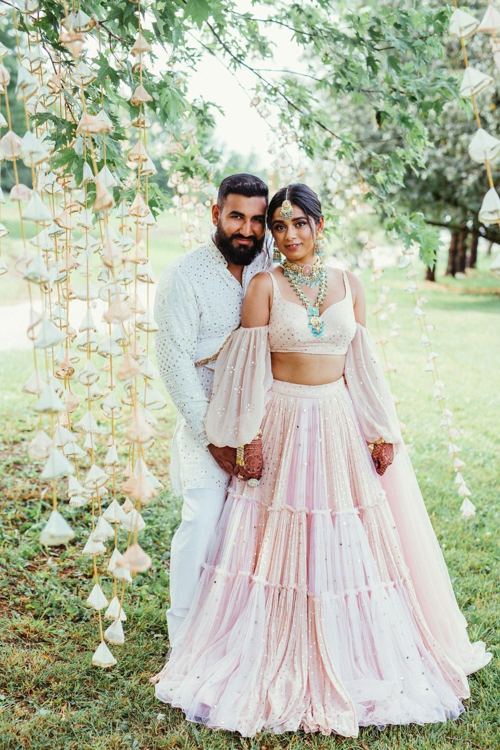 Mani Jassal's Boho, Beachy Engagement Party in Caledon, Ontario | Weddingbells