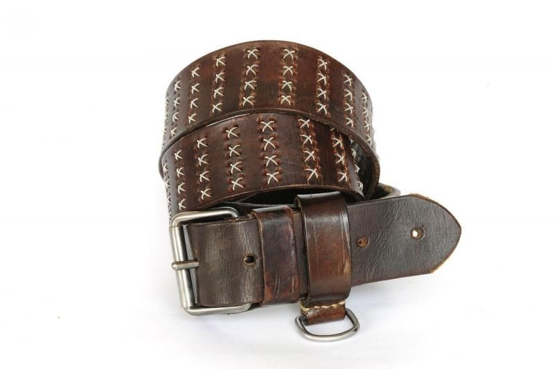 Dukes Artisan Vienna 1000 Silverstars. Wait, there's been an artisanal belt maker doing stuff like this and I've never heard of them!? Unreal.