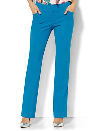 Shop 7th Avenue Design Studio Pant - Modern Fit - Straight Leg . Find your perfect size online at the best price at New York & Company.