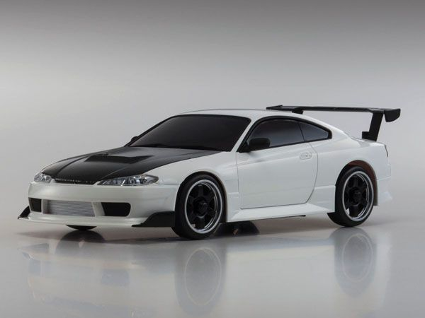 KYOSHO AUTO SCALE COLLECTION MINIZ NISSAN SILVIA S WHITE MA - Car decal maker