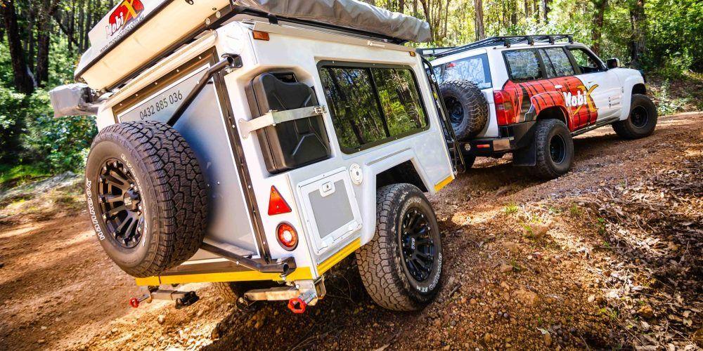 Mobi X Camper Trailer Measures 12 Feet Sleeps 6 More 9to5toys In 2020 Camper Trailers Off Road Teardrop Trailer Camper