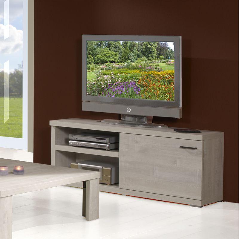 meuble tv couleur ch ne blanchi moderne meuble tv. Black Bedroom Furniture Sets. Home Design Ideas