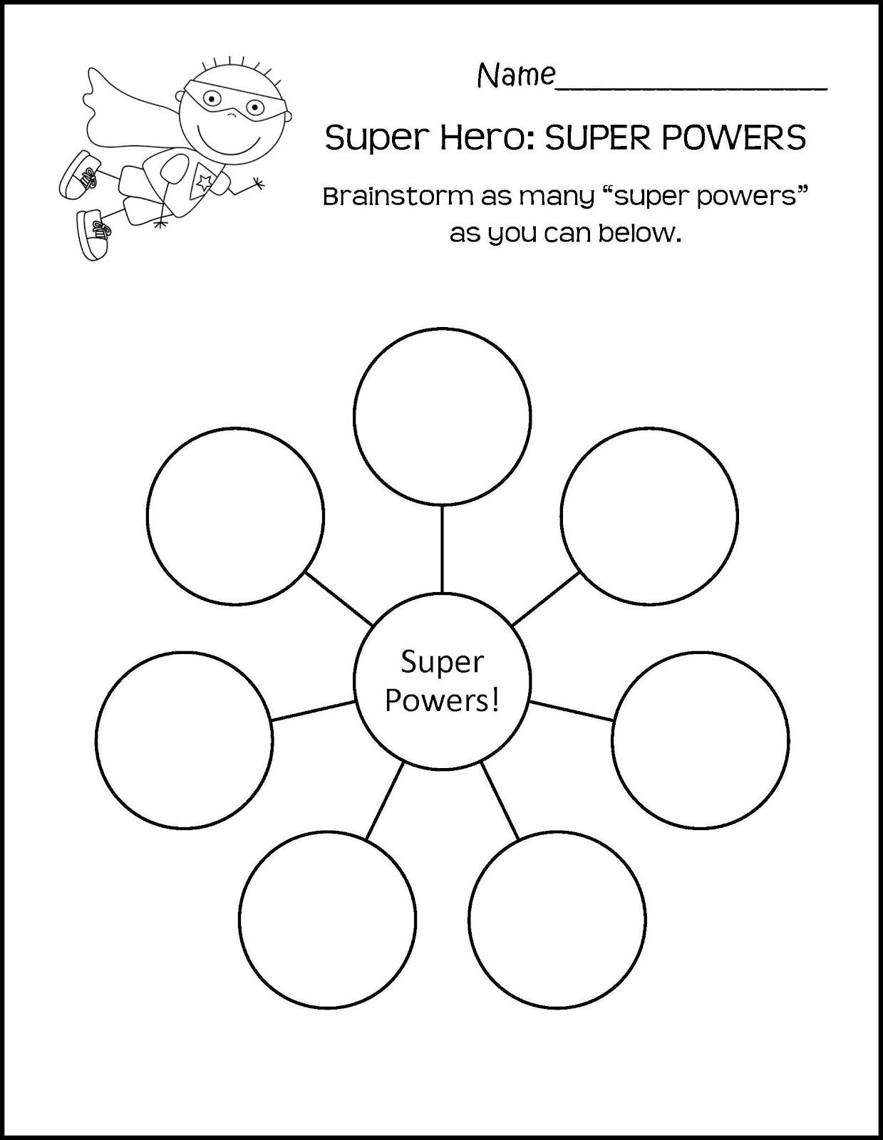 worksheet Art Therapy Worksheets help kids find their superpower be confident party pinterest superpower