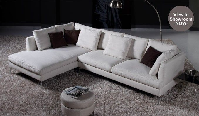 Mineli corner sofa modern design delux deco uk living
